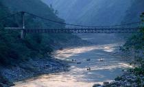 Hang Tom bridge, Song da, lai chau