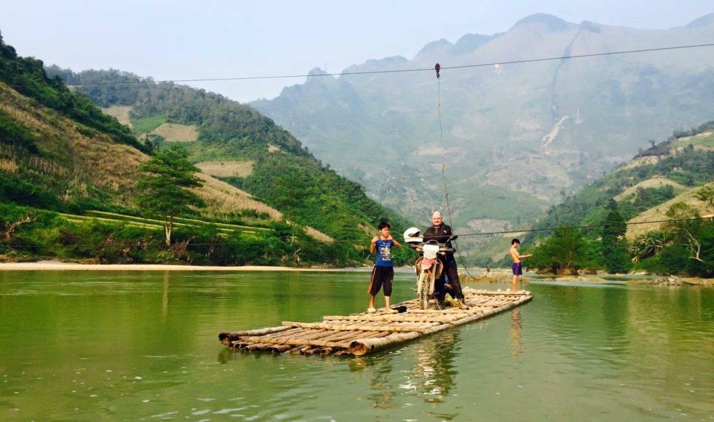 Ba Be Lake  - HANOI OFFROAD MOTORBIKE TOUR TO BA BE LAKE AND BAN GIOC WATERFALL