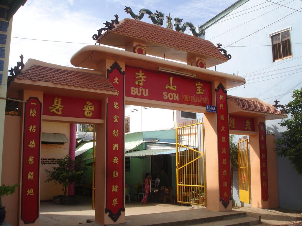 Clay Pagoda - VIETNAM MOTORBIKE TOUR TO TRA VINH, SOC TRANG, LONG XUYEN