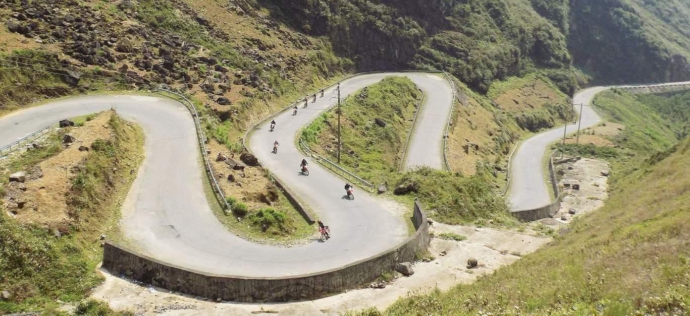 Ma Pi Leng Pass - BEST NORTHERN VIETNAM MOTORBIKE TOUR TO HA GIANG, CAO BANG