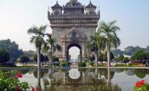Patuxay Monument in Vientiane 210x128 - Gallery : Laos attractions in photos