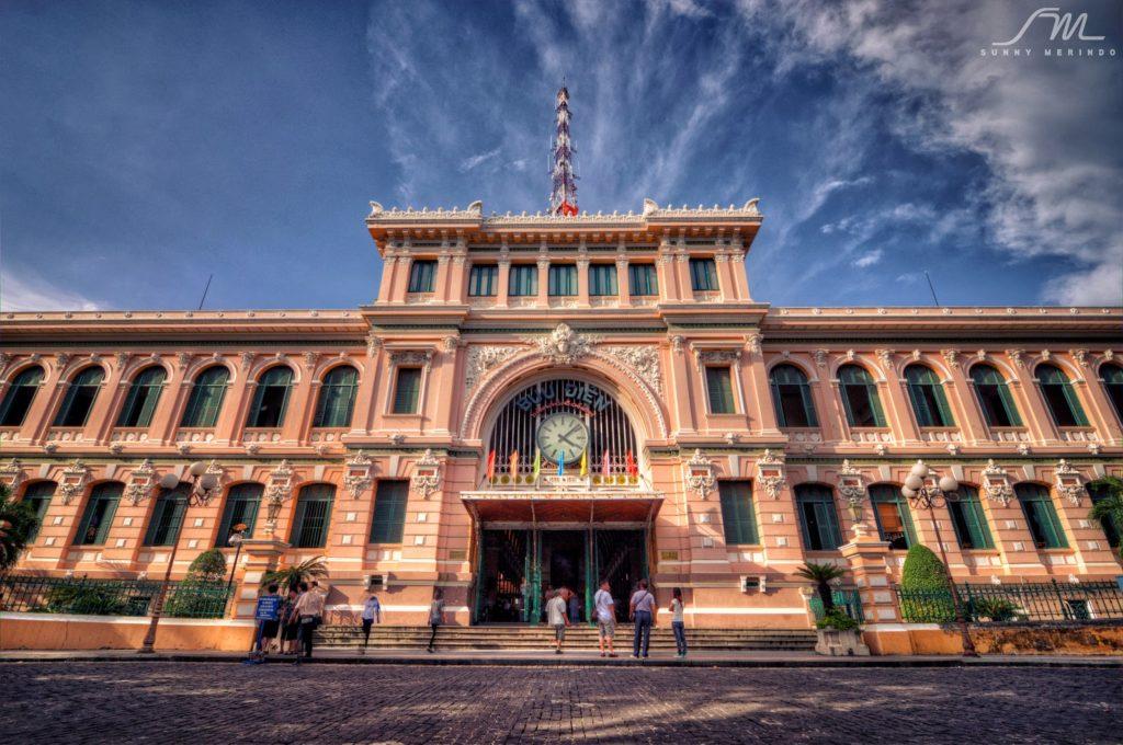 Saigon Central Post Office 1024x680 - FULL-DAY SAIGON CITY TOUR BY MOTORBIKES