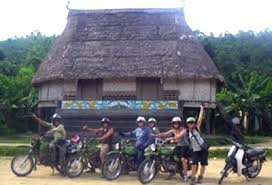HOI AN MOTORCYCLE TOUR TO TRIBAL VILLAGES FOR HOMESTAY