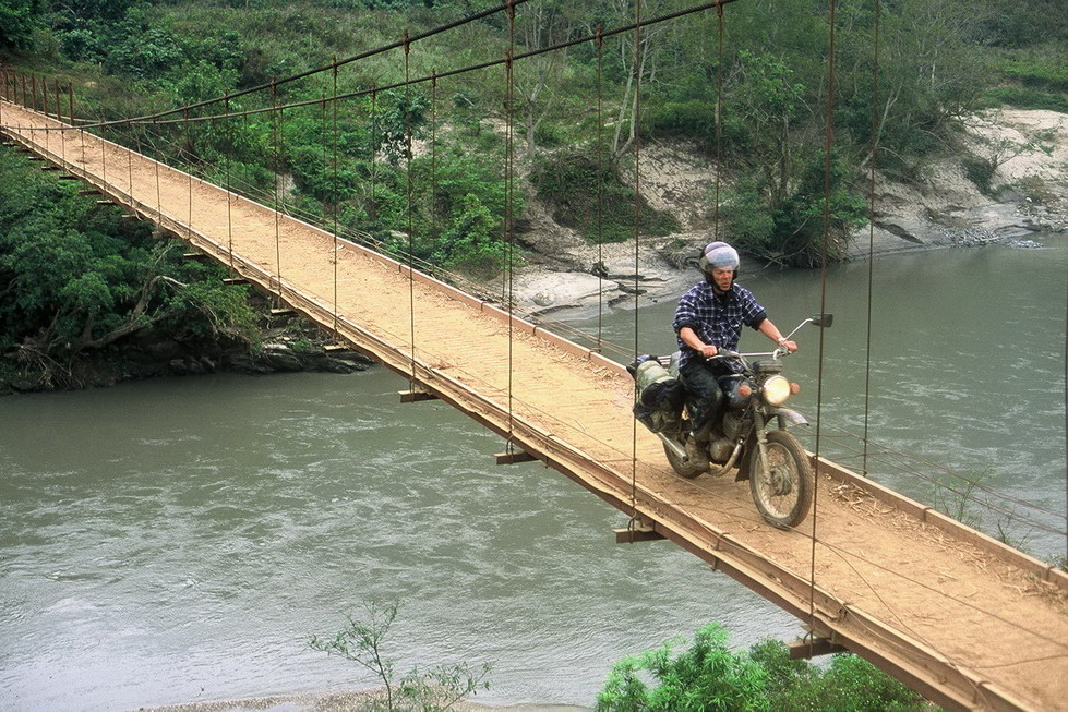 HANOI OFFROAD MOTORBIKE TOUR TO BA BE LAKE AND BAN GIOC WATERFALL