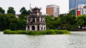 Hoan Kiem Lake - HANOI JEEP TOUR TO DISCOVER THE OLD QUARTERS