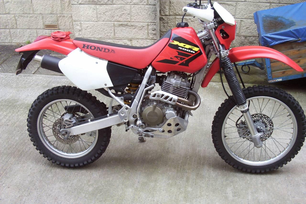 Honda XR 400 R 07 - Honda XR 400cc