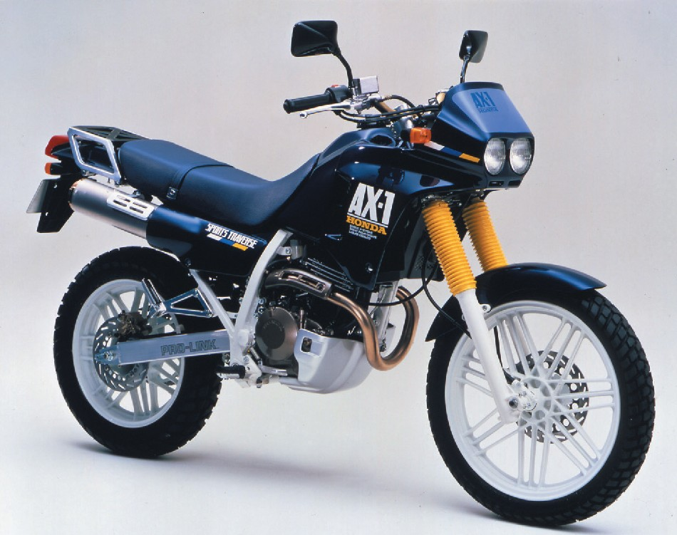 ax 1 1987 - Honda AX1 & Kaw Anhelo 250cc