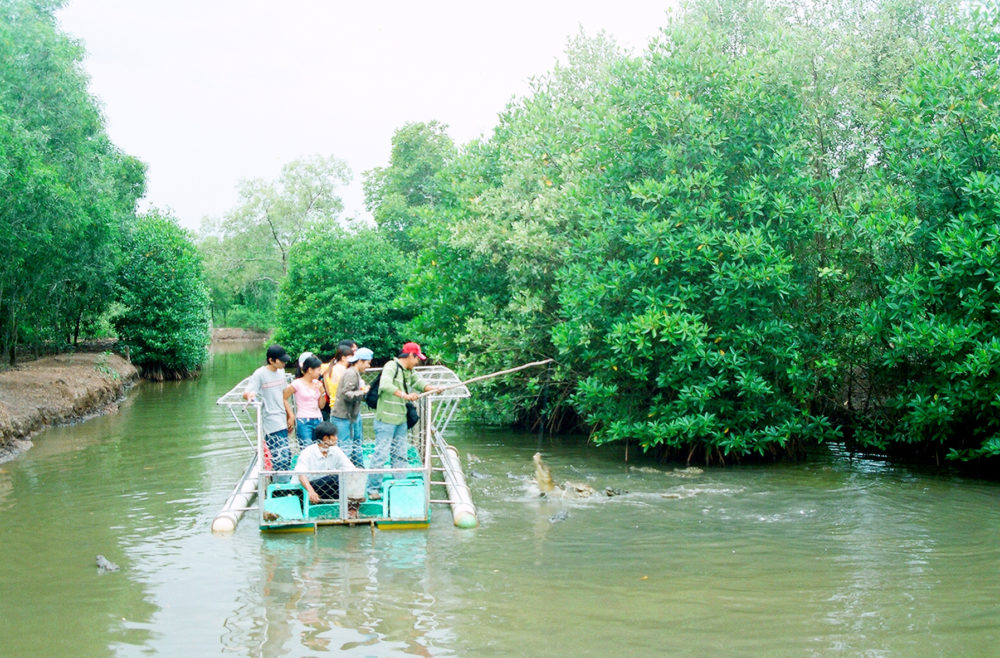 Vam Sat forest e1505726210503 - SAIGON MOTORBIKE TOUR TO CAN GIO AND SAC FOREST FOR 1 DAY
