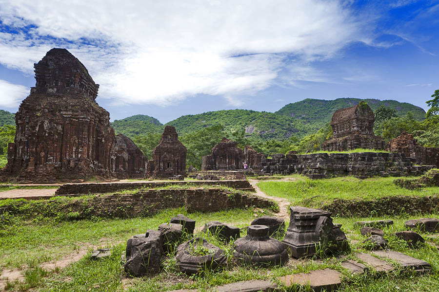 My Son Sanctuary in Hoi An - COMPLETE VIETNAM MOTORBIKE TOUR ALONG THE COAST FROM HANOI TO SAIGON