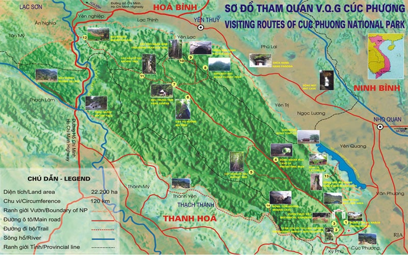 One Day Hanoi Motorbike Tour to Cuc Phuong National Park