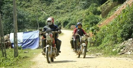 Northern Vietnam offroad motorbike tours
