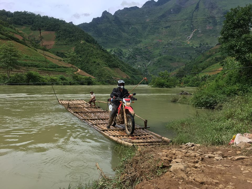 Northern Vietnam Motorbike Tour from West to East