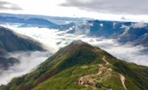 On-Cloud Hanoi Motorbike Tour to Mai Chau and Ta Xua peak - 3 Days